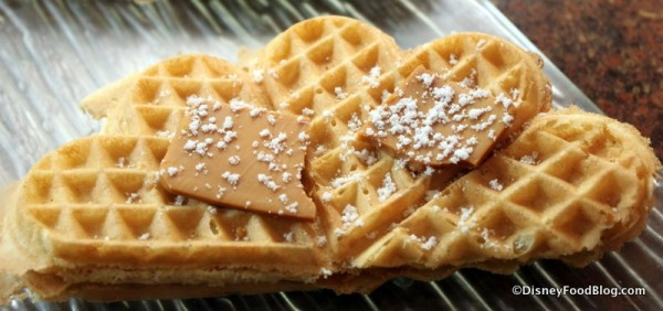 Goat Cheese Waffle Topping