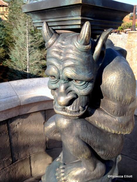 Gargoyle Outside the Castle