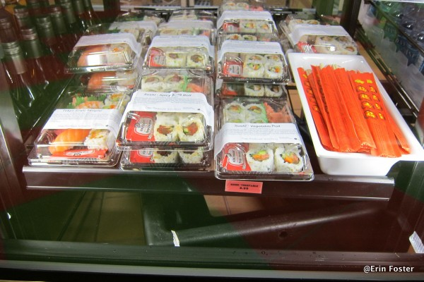Grab and Go Sushi