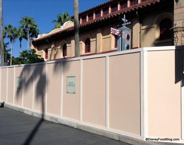 L.A. Cinema Prop Storage under refurbishment
