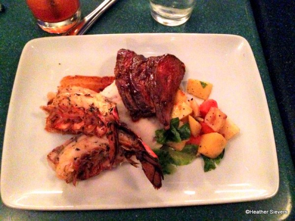 Lobster Tail and Tri Tip