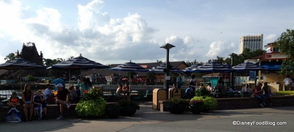 Marketplace Outdoor Seating
