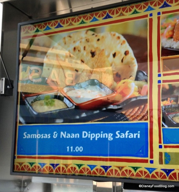 Samosas and Naan Dipping Safari on Menu