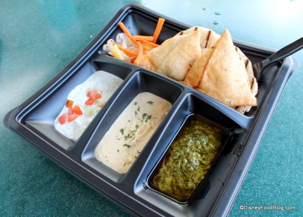 Samosas and Naan Dipping Safari at Namaste Cafe