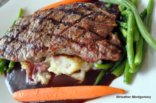 Char-Crusted New York Strip Steak