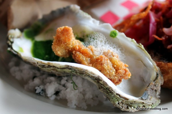 "Oysters ""roc"" a fella from PB&G"