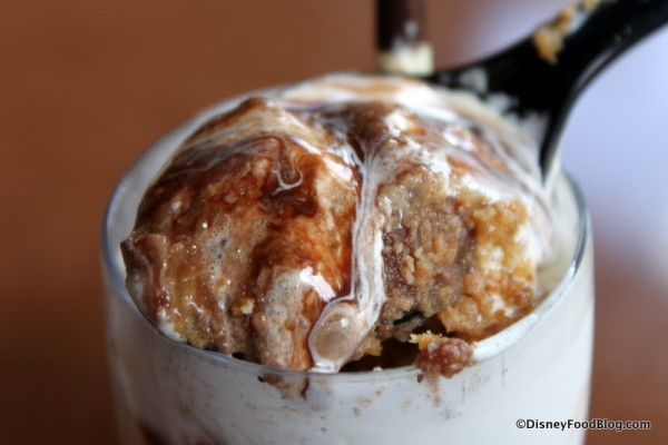 S'mores Mousse -- Inside