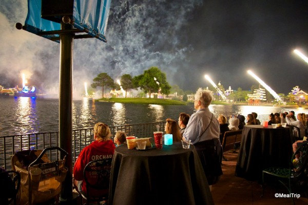 View of Illuminations for Snack Attack -- Super Close to the Action!