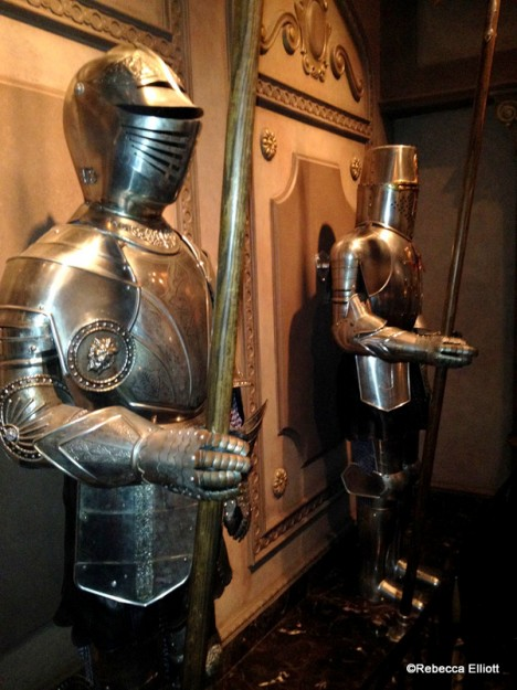 Some of the Suits of Armor Were a Little Chatty!
