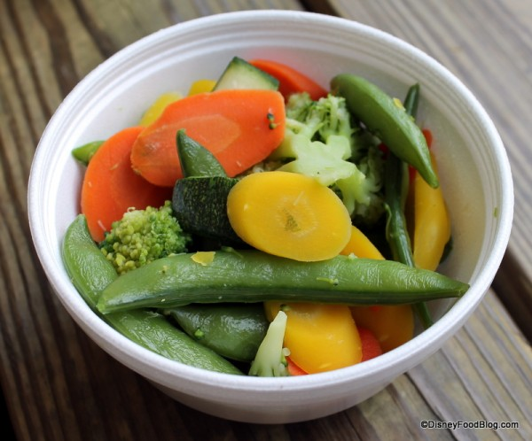 Steamed Vegetables