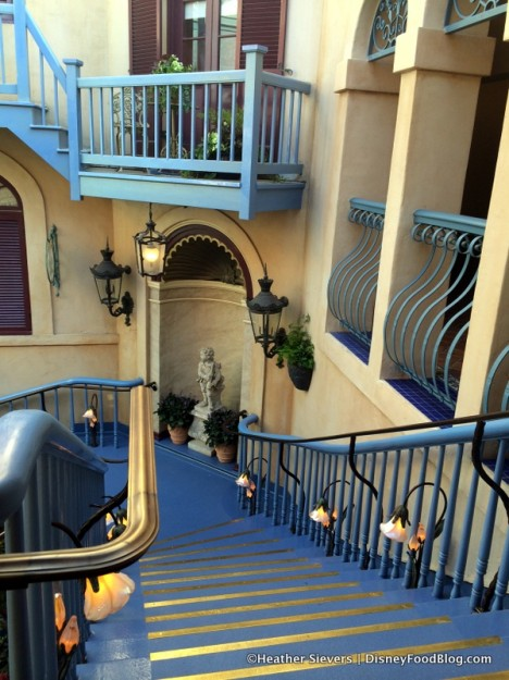 Steps Down to Club 33