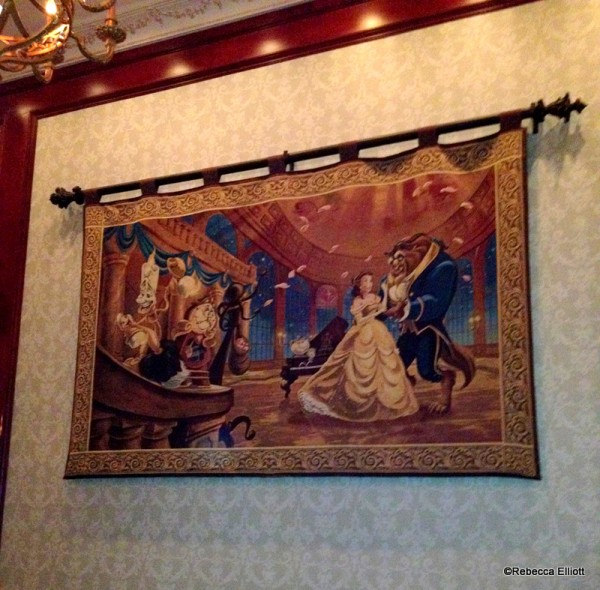 Tapestries Depicting Scenes from the Movie Hang in the Rose Gallery