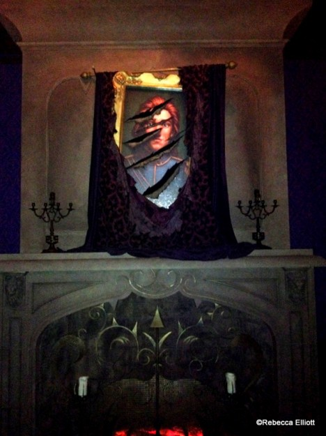 The Beast's Portrait in the West Wing, Appropriately Scarred