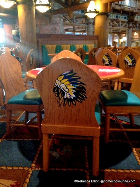 The Chairs Are Adorned with Cowboys and Indians