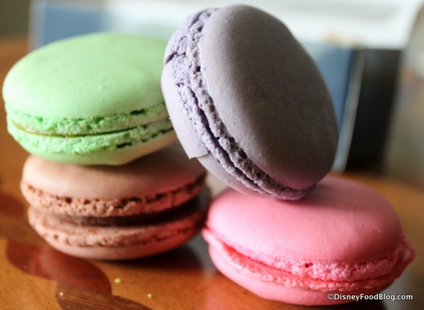 Macarons from Les Halles
