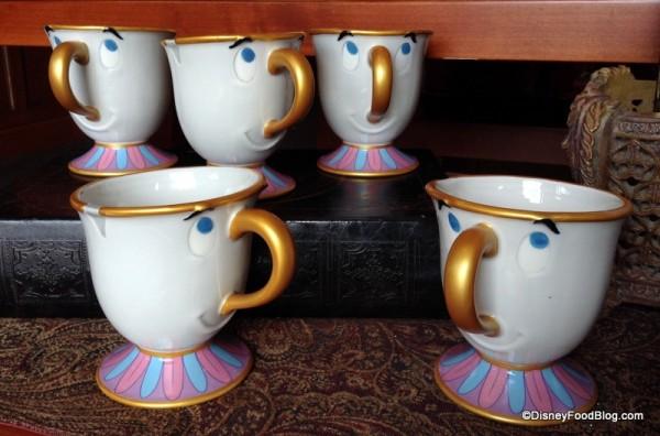 Chip teacups