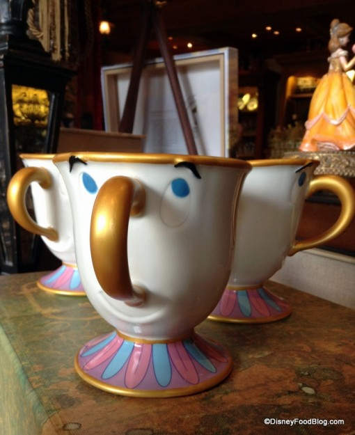 Chip the Teacup!