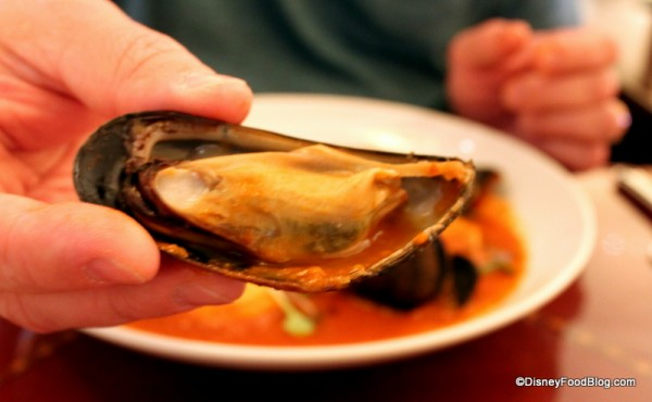 Mussels in Seafood Cioppino