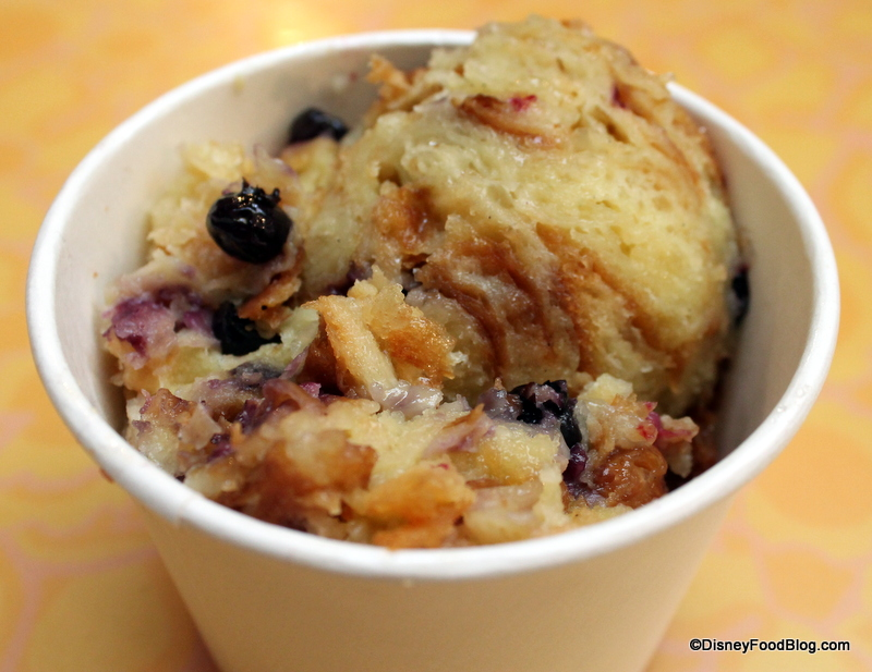 Review: Croissant Berry Bread Pudding at Sunshine Seasons in Epcot's ...