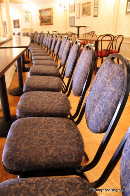 Cushy chairs