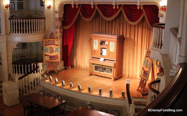 The Diamond Horseshoe stage