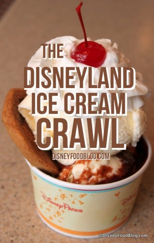 disneyland ice cream crawl