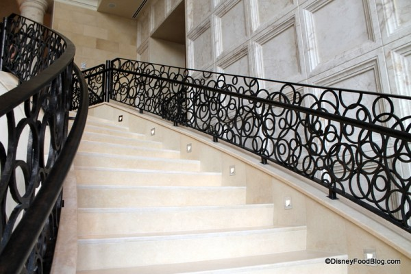 Stairwell to the lobby