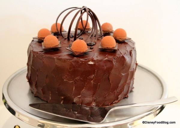 Chocolate Cake at Four Seasons Orlando