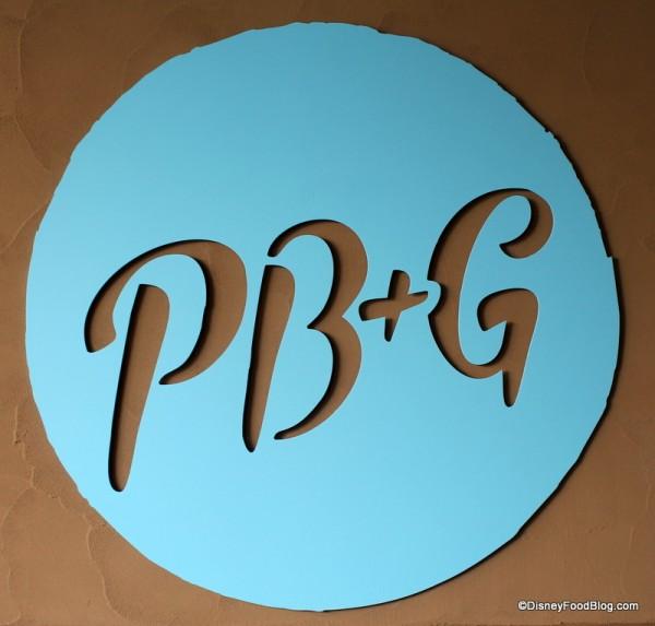 PB&G Sign