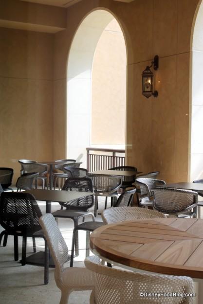 Ravello outdoor seating
