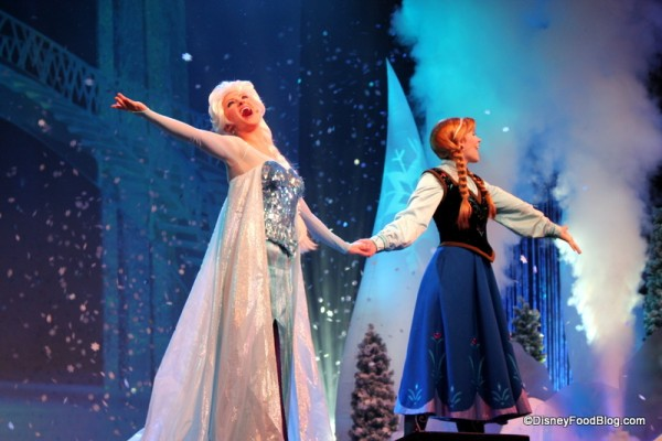 Elsa and Anna Letting It Go!