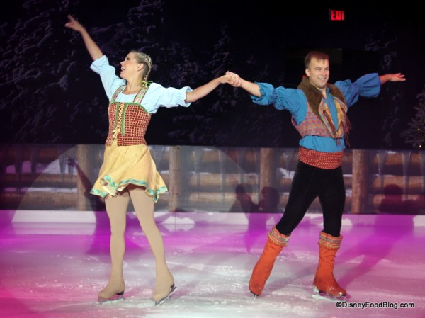 Performers at Frozen Funland Ice Rink