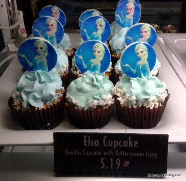 Elsa Cupcakes