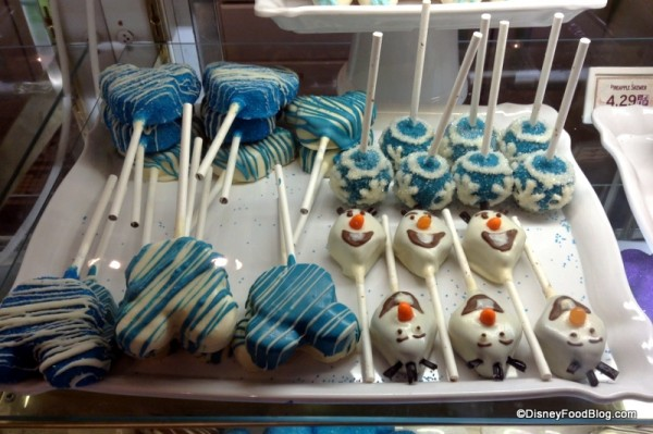 Frozen treats at the Main Street Confectionery