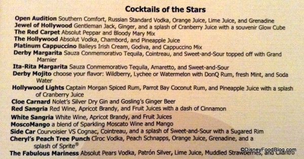 """""""Cocktails of the Stars"""""""