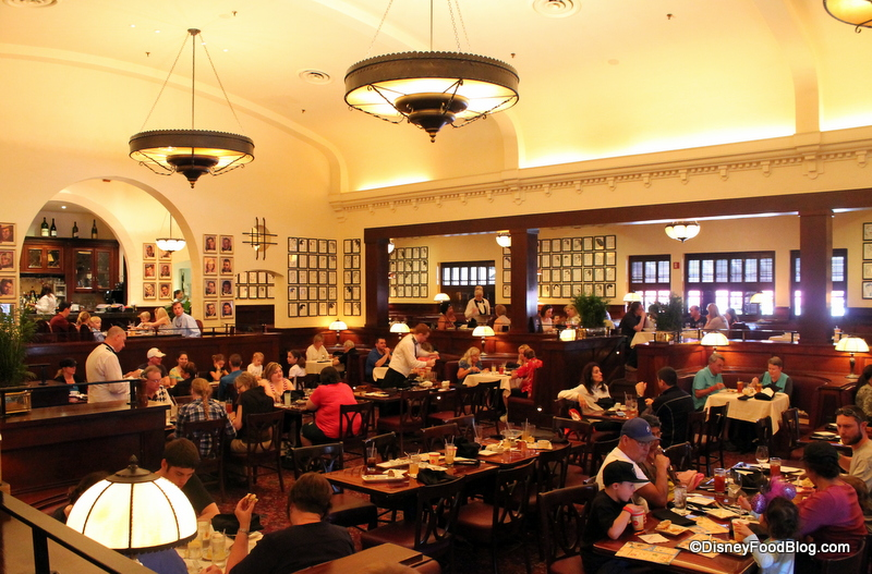 Review Lunch at The Hollywood Brown Derby in Disneys  : hollywood brown derby main dining room 2 from www.disneyfoodblog.com size 800 x 527 jpeg 326kB