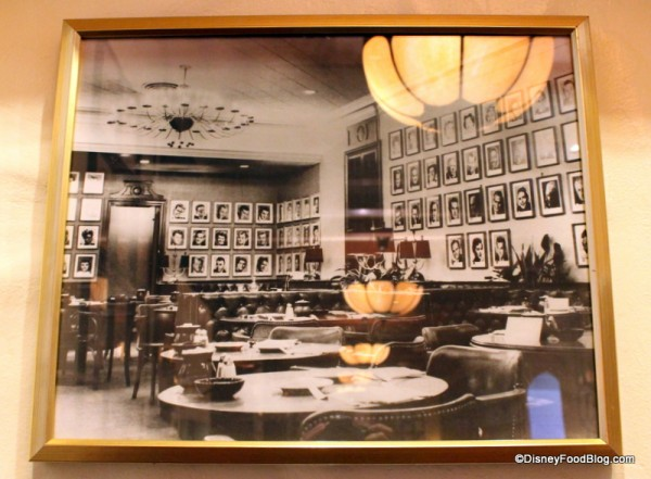 Photograph of the original Brown Derby