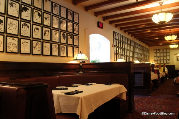 One side area in the Brown Derby