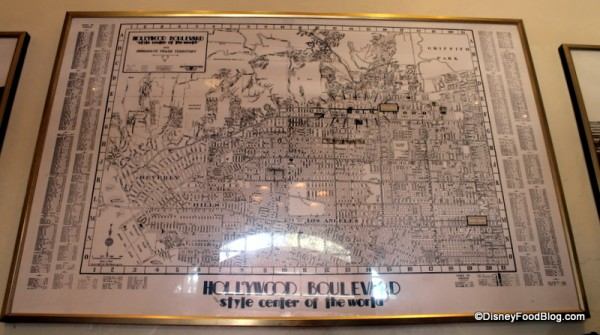 Hollywood Boulevard Map
