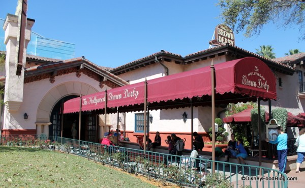 Brown Derby entrance