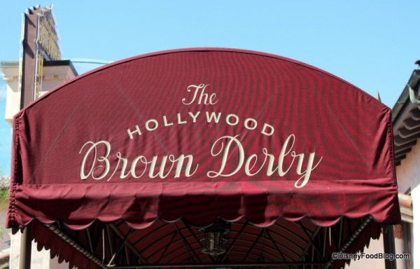 Brown Derby entrance
