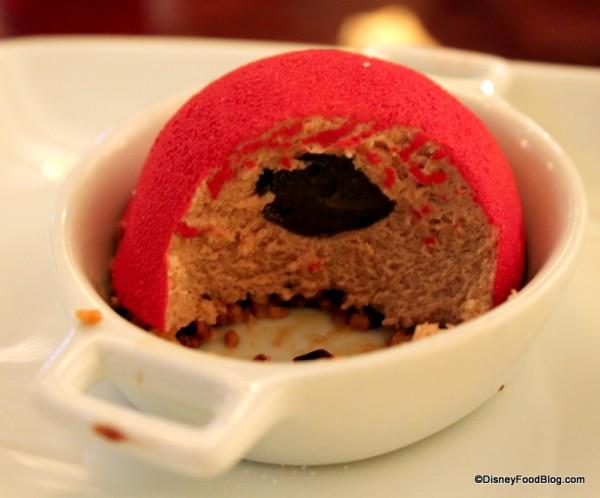 Inside the Milk Chocolate Cremeux