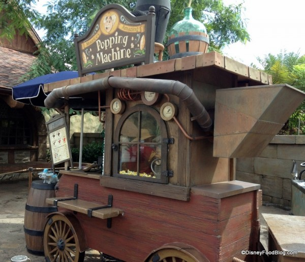 Maurice's Amazing Popcorn Machine in Magic Kingdom's New Fantasyland