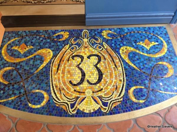 Club 33 Mosaic Logo