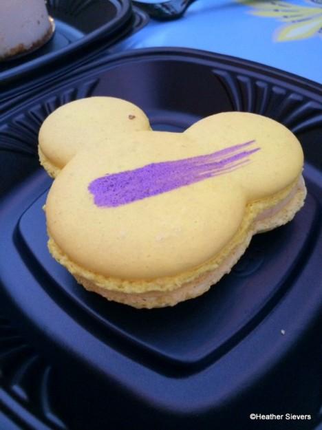 Passion Fruit Mickey Macaron