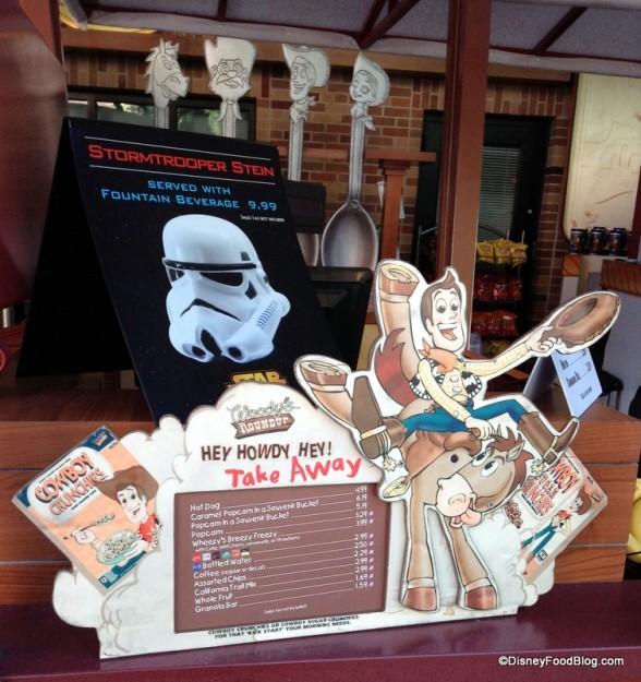 Stormtrooper Stein sign