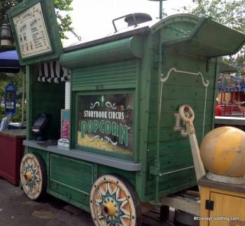 storybook circus popcorn