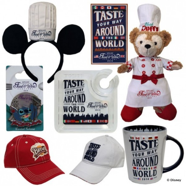 2014 Epcot Food and Wine Festival Merchandise