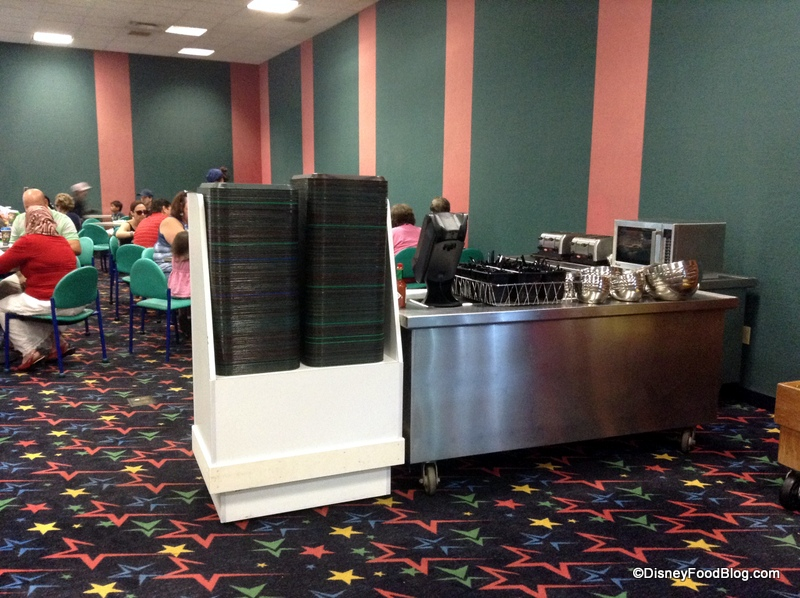 Tour Temporary Food Court At Disney S All Star Music Resort