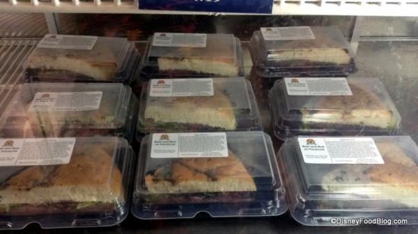 Beef Focaccia sandwiches